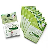 Earth Therapeutics 5 pack Soothing Aloe Vera Face Masks