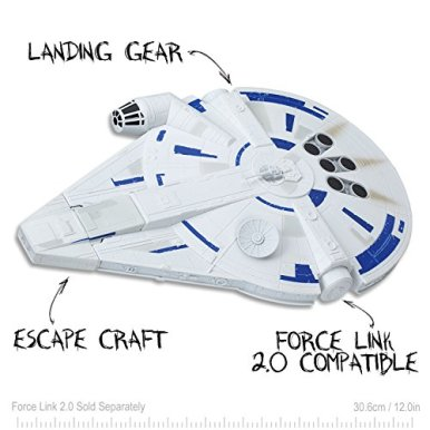 Star-Wars-Force-Link-20-Millennium-Falcon-with-Escape-Craft