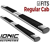 Ionic Voyager Plus Stainless Running Boards 2015-2018 Dodge Ram Regular Cab
