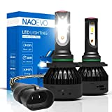 NAO 9006/HB4 LED Headlight Kits-Flip Chips 72W 7600LM /Pair Low Beam Car LED Headlights Fog Light (Pack of 2)