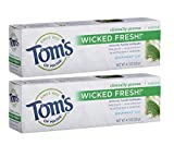 Tom's of Maine Ice Wicked Fresh Paste, Spearmint, 4.7 Ounce,...