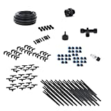Drip Irrigation Kit for Container Gardening Premium Size - Water 80 Plants