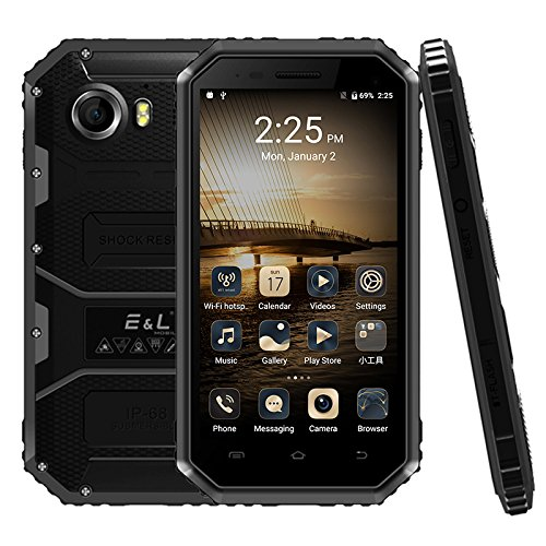 E&L Proofing W6S 1GB+8GB 4.5 inch Android 6.0 SC7731 Quad Core up to 1.2GHz WCDMA & GSM