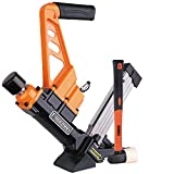 Freeman PDX50C Lightweight Pneumatic 3-in-1 15.5-Gauge and 16-Gauge 2' Flooring Nailer and Stapler Ergonomic and Lightweight Nail Gun for Tongue and Groove Hardwood Flooring