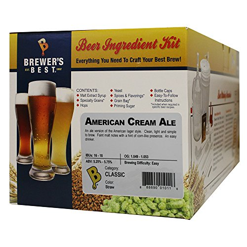 American Cream Ale Homebrew Beer Ingredient Kit