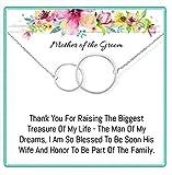 OnePurpose Mother of The Bride/Groom Gifts (Interlocking) Groom