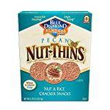 Blue Diamond Pecan Nut-Thins Cracker Crisps, 4.25 Ounce (Pack of 12)