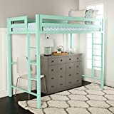 Product review for WE Furniture Premium Twin Metal Loft Bed, Mint