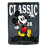 Disney's Mickey Mouse, 'A Classic' Micro Raschel Throw Blanket, 46' x 60', Multi Color