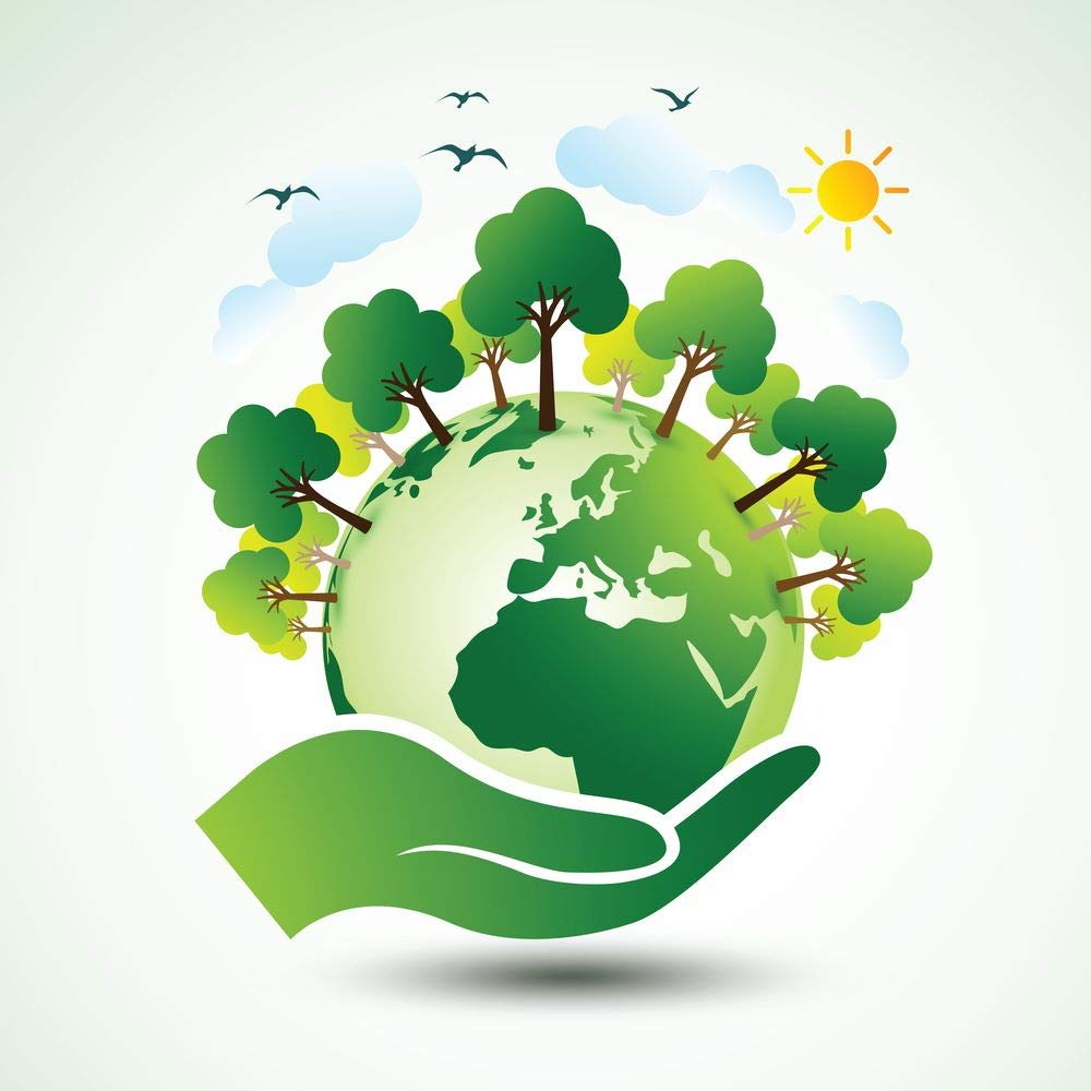 Buy 5 Ace The Green Earth Globe M Sticker Poster Save Earth Save Nature Globar Warming Size 12x18 Inch Multicolor Online At Low Prices In India Amazon In