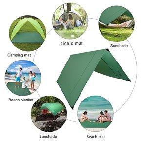 Rottay-Waterproof-Camping-Tarp-Picnic-and-Beach-MatTent-Footprint-and-SunshadeHiking