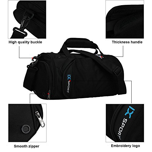 a510780469 IX Fitness Sport Small Gym Bag with Shoes Compartment Waterproof ...
