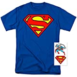 Popfunk Superman Classic Logo T Shirt & Exclusive Stickers