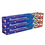 Reynolds Kitchens Parchment Paper (Smart Grid, Non-Stick, 50 Square Foot Roll, 3 Count)