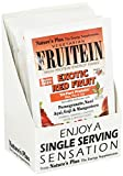NaturesPlus Fruitein Exotic Red Fruit High Protein Energy Shake (8 Pack) - 1.2 oz, Vegetarian Powder - Vitamins, Minerals, Enzymes, Herbs & Whole Foods - Non-GMO, Gluten-Free - 8 Total Servings
