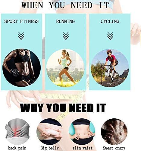 DAWNDEW Waist Trainer for Women, 3-in-1 Waist and Thigh Trimmer Butt Lifter-Weight Loss Slimming Body Shaper Belt, Adjustable Hip Enhancer, Hips Belt Trimmer Body Shaper Workout Fitness Training 8