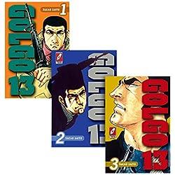 Coleção Golgo 13 - Volumes 1 a 3