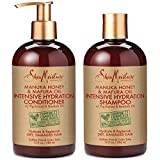 SheaMoisture Manuka Honey & Mafura Oil Intensive Hydration Shampoo & Conditioner | Set of 2 | 13 fl. Oz. each