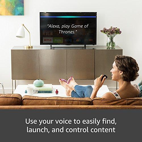 All-new Fire TV com 4K Ultra HD e Alexa Voice Remote (Design de pingente) |  Media Player de transmissão