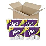 VIVA Choose-A-Sheet* Paper Towels, White, Big Roll, 6 Rolls (Pack of 4)