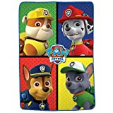 Franco Kids Bedding Super Soft Plush Microfiber Blanket, Twin/Full Size 62' x 90', Paw Patrol