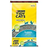 Purina Tidy Cats Non Clumping Cat Litter; Instant Action Low Tracking Cat Litter - 30 lb. Bag