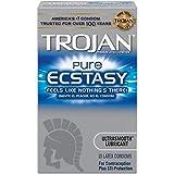 Trojan Pure Ecstasy Condoms, 10ct
