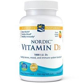 Nordic Naturals – Vitamin D-3, 1000 IU, 120 softgels