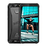 Blackview BV5500 pro 4G LTE Rugged Cell Phone Unlocked IP68 Waterproof Outdoor Smartphone,4400mAh Battery 3+16GB Android 9 Mobile Phones 5.5inches MT6739 Dual SIM/NFC/GPS/GLONASS AT&T/T-Mobile Black