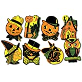 Beistle 01009 Packaged Halloween Cutouts, 8.5' - 9.25', 4 Cutouts In Package