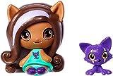 Monster High Minis Clawdeen Wolf Doll & Crescent Pet