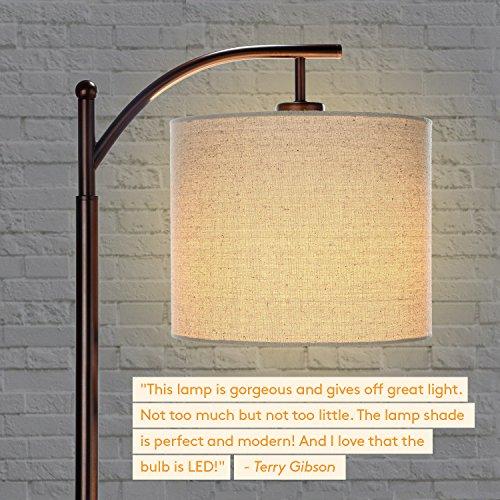 brightech montage bedroom living room led floor lamp - Floor Hanging Lamp
