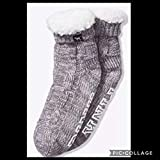 VICTORIA SECRET - SOLD OUT. PINK COZY BOOTIES. SHERPA GREY SLIPPERS SOCKS. SOLD OUT