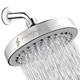 SparkPod Shower Head - High Pressure Rain - Luxury Modern Look - Easy Tool Free Installation - The Perfect Adjustable Replacement For Your Bathroom Shower Heads