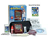 PetTest Advocate Monitoring Glucose Levels - Diabetes Testing Tools - Calibrated for Pets - Bonus eOutletDeals Pet Towel (Starter Kit + 50 Test Strips)