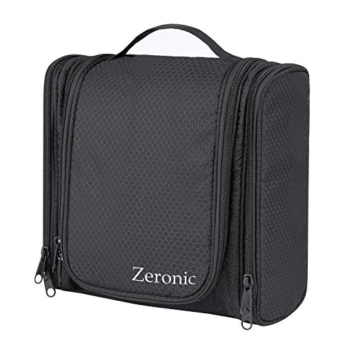 Toiletry Bag,Hanging Travel Toiletry Organizer Kit Portable Waterproof...
