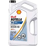 Rotella T4 Triple Protection Diesel Oil, 15W-40 (CK-4), 1 Gallon - Pack of 1