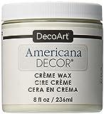 DecoArt Americana Decor Creme Wax, 8-Ounce, Clear