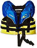 O'Neill Infant Superlite USCG Life Vest, Pacific/Yellow/Black/Yellow, 0-30 lbs