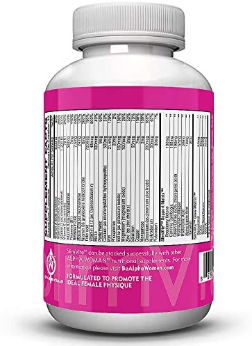 SLIMVITE – Women's Multivitamin for Weight Loss & Beauty, Multi Vitamin Metabolism Booster with Resveratrol & Green Coffee Bean Extract for Hair Skin & Nails and Appetite Suppressant, 30 Day Supply 3