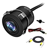 econoLED Vehicle Backup Camera,Backup Rear View Camera Waterproof High Definition Color Universal High definition CMOS Non-mirror 170°Wide Viewing Angle for Cars Jeep Trucks SUV RV Van