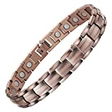 VITEROU Magnetic Copper Therapy Anklet for Men and Women with Healing Magnets for Arthritis Pain Relief,3500 Gauss,11 inches