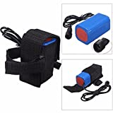 Creazy 8.4V 6400mAh Rechargeable 4x 18650 Battery Pack For Head lamp Bike Bicycle Light