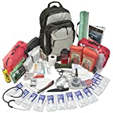 Emergency Zone 2 Person Stealth Tactical Bug Out Bag | 72 Hours Emergency Go Bag | Discrete Design | Perfect Way to Prepare for Disasters Like Hurricanes, Earthquake, Wildfire, Floods, Evacuations