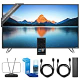 Vizio 60' 4K SmartCast M-Series Ultra HD HDR TV Home Theater Display (M60-D1) w/ TV Cut the Cord Bundle Includes, Durable HDTV & FM Antenna, Universal Screen Cleaner & 2x 6ft High Speed HDMI Cable