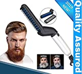 Clomana Ultra Class Electric Beard/Hair Straightener Care Comb Multifunctional Curly Hair Straightening Curler For DIY Flexible Modelling