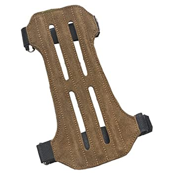 OMP Mountain Man 2-Strap Ventilated Leather Suede Arm Guard review