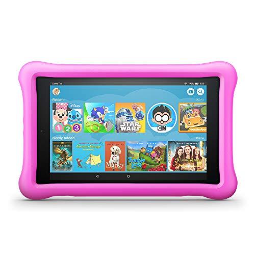"Fire HD 8 Kids Edition Tablet, 8"" HD Display, 32 GB, Pink Kid-Proof Case"