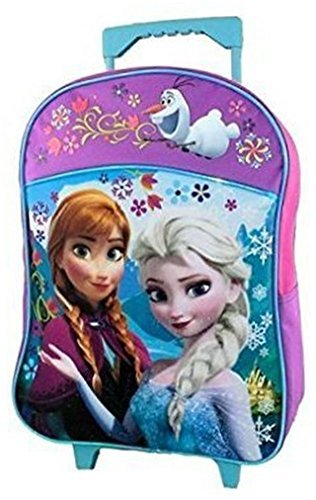 Disney Frozen Rolling School Backpack Large