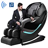 Massage Chair by OOTORI,3D SL-Track Thai Yoga Stretching Zero Gravity Massage Chair,Full Body Shiatsu Massage Chairs Recliner with Tapping, Heating and Foot Roller Massager (Black)